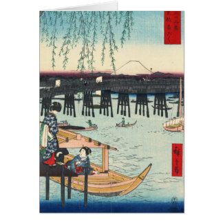 Ryogoku 1858年からの富士山 カード