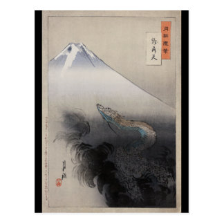 Ryūは緒形Gekkō (1897年)によってshōten ポストカード