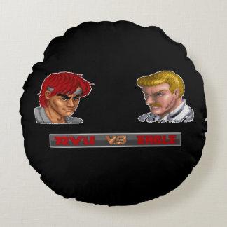 Ryu対ワシ ラウンドクッション