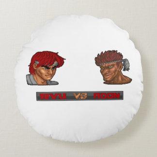Ryu対Adon ラウンドクッション