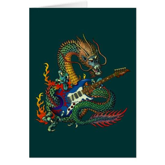 Ryuu Guitar 05 グリーティングカード