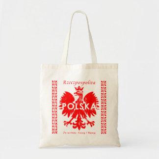 Rzeczpospolitaポルスカポーランドのワシの記号 トートバッグ