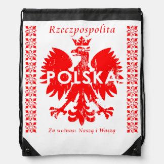 Rzeczpospolitaポルスカポーランドのワシの記号 ナップサック
