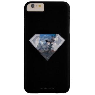 S盾のロゴのスーパーマンのS盾|のスーパーマン スキニー iPhone 6 PLUS ケース