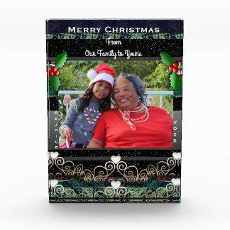 S1 Custom Christmas Winter Holiday Photo Display フォトブロック