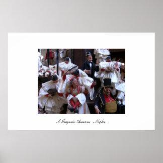 S.グレゴリオArmeno'sの通りの写真 ポスター