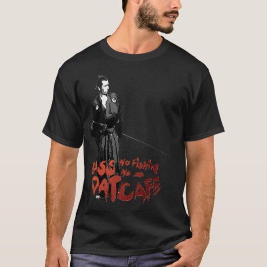 samurai fish tシャツ