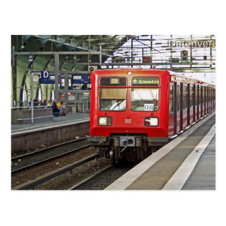 S - bahnベルリン、ドイツ。 地下鉄 ポストカード