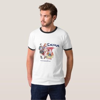S.N.M.N. ポッドキャストの人のTシャツ Tシャツ
