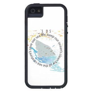 S.o.s: 私達の海を救って下さい iPhone SE/5/5s ケース