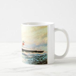 S.S. 米国-アメリカはさみ金のプロジェクト コーヒーマグカップ