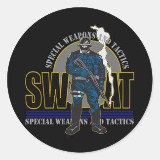 S.W.A.T. 態度 ラウンドシール