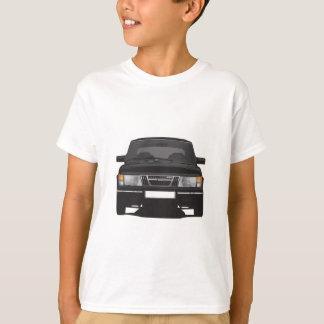Saab 900ターボ(黒) tシャツ