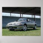 Saab 9-3のコンバーチブル ポスター