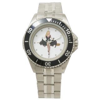 Sabrina彼女のほうきの十代の魔法使い 腕時計