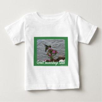 Sacandagaのハチドリ ベビーTシャツ