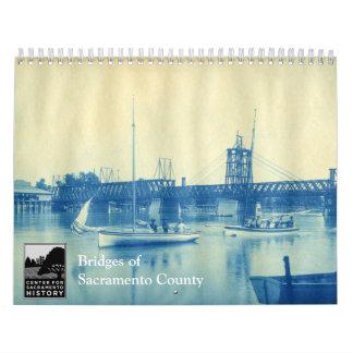 Sacramento郡の橋 カレンダー