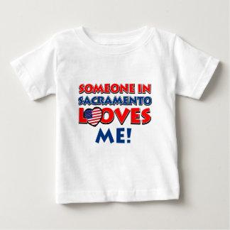 SACRAMENTO.png ベビーTシャツ