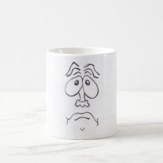 SAD FACE氏 コーヒーマグカップ