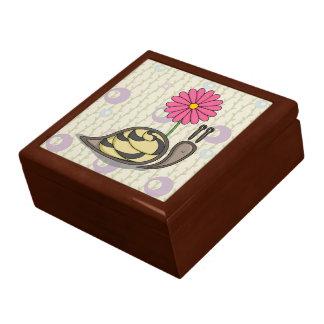Sadieかたつむりのタイル箱 ギフトボックス