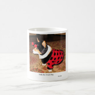 Sadie攻撃の虫 コーヒーマグカップ