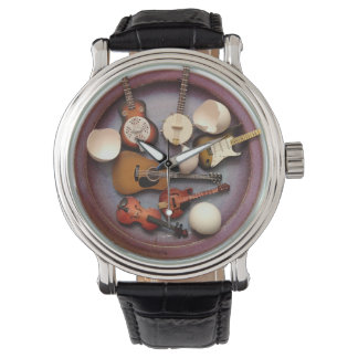 Sado-Domesticsの2卵の周波数変換器のヴィンテージ腕時計 腕時計