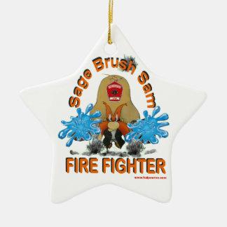 Sage_Brush_Sam_Firefighter セラミックオーナメント