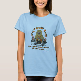 Sage_Brush_Sam_Sheriff Tシャツ