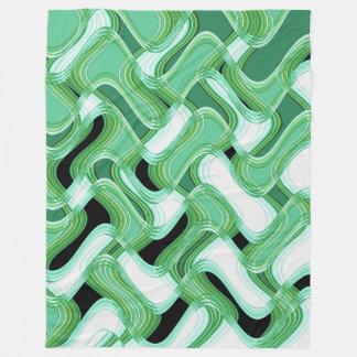 Sage & Ivory Fleece Blanket by C.L. Brown フリースブランケット