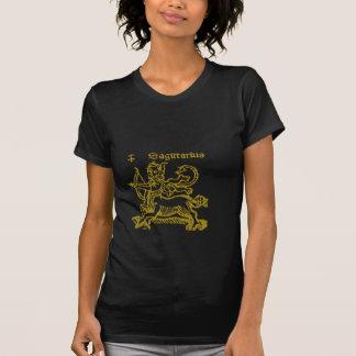 Sagitariusの(占星術の)十二宮図の印のTシャツ Tシャツ