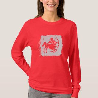 Sagitariusの(占星術の)十二宮図のTシャツ Tシャツ