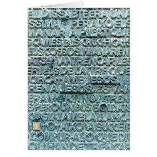 Sagrada Familiaからの単語 カード