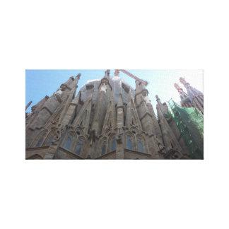Sagrada Familiaで待っていること キャンバスプリント