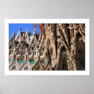 Sagrada Familiaの詳細 ポスター