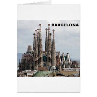 SAGRADA FAMILIAバルセロナスペイン(St.K) カード