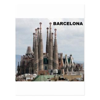 SAGRADA FAMILIAバルセロナスペイン(St.K) ポストカード