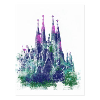 Sagrada Familiaバルセロナ ポストカード