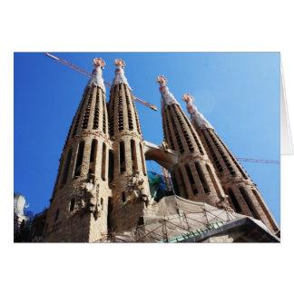 Sagrada Familia カード