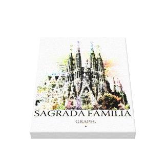 Sagrada Familia キャンバスプリント