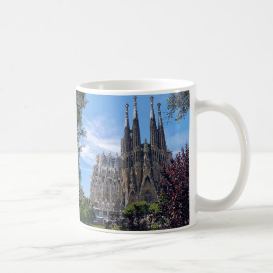 Sagrada familia コーヒーマグカップ