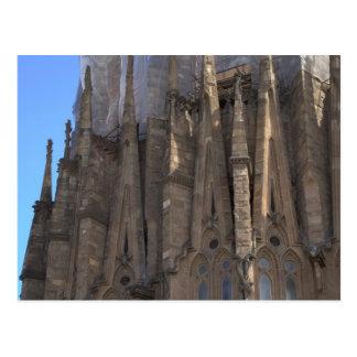 Sagrada Família、バルセロナ ポストカード