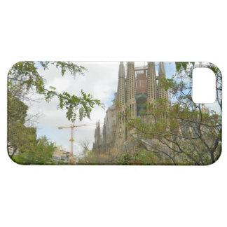 Sagrada Família、バルセロナ iPhone SE/5/5s ケース