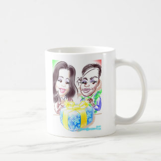Sagrarioの風刺漫画のマグ コーヒーマグカップ