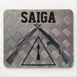 Saigaのライフルのマウスパッド マウスパッド