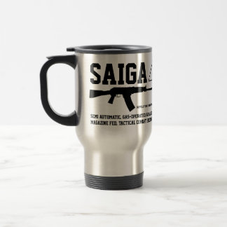 Saiga 12の戦術的な戦闘の散弾銃旅行コーヒー・マグ トラベルマグ