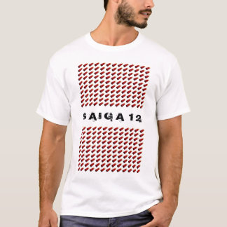Saiga 12 tシャツ