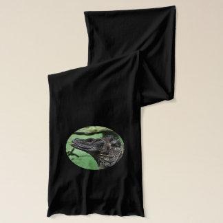 Sailfinのトカゲのポートレート スカーフ