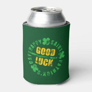 Saint patricks dayの幸せな幸運 缶クーラー