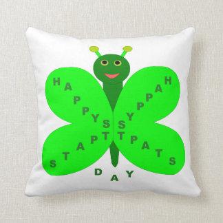 Saint patricks dayの蝶枕 クッション