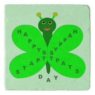 Saint patricks dayの蝶石Trivet トリベット